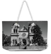 Santa Fe - Basilica Of St. Francis Of Assisi Weekender Tote Bag