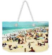 Santa Monica Beach Weekender Tote Bag