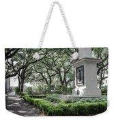 Historic Wright Square - Downtown Savannah Georgia Weekender Tote Bag