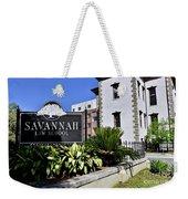 Savannah Law School Weekender Tote Bag