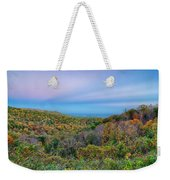 Scenic Blue Ridge Parkway Appalachians Smoky Mountains Autumn La Weekender Tote Bag