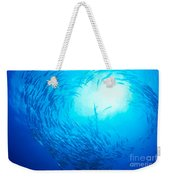 School Of Bigeye Jacks Weekender Tote Bag