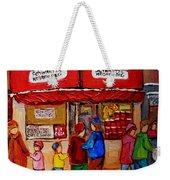 Schwartz's Hebrew Deli Weekender Tote Bag