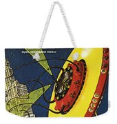 Sci-fi Magazine Cover, 1929 Weekender Tote Bag