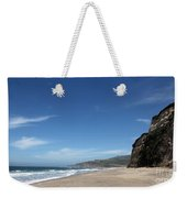 Scott Creek Beach California Usa Weekender Tote Bag