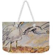 Seagull Salute Weekender Tote Bag