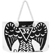 Seal: Freemasonry Weekender Tote Bag