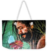 Searching The Meaning Of Life Weekender Tote Bag
