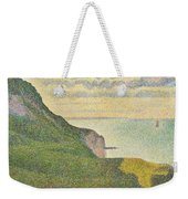 Seascape At Port-en-bessin Normandy Weekender Tote Bag