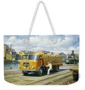 Seddon At Poole Docks. Weekender Tote Bag
