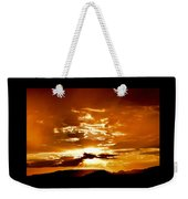 Sedona Sunset Weekender Tote Bag