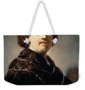 Self-portrait Rembrandt Harmenszoon Van Rijn Weekender Tote Bag