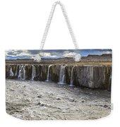 Selfoss Waterfall Weekender Tote Bag