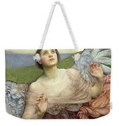 Sense Of Sight Weekender Tote Bag by Annie Louisa Swinnerton