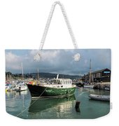September Morning - Lyme Regis Harbour Weekender Tote Bag