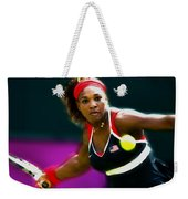 Serena Williams Eye On The Prize Weekender Tote Bag