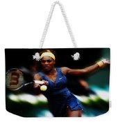 Serena Williams Making It Look Easy Weekender Tote Bag