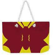 Serendipity Butterflies Brickgoldblue 5 Weekender Tote Bag