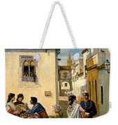 Sevillian Square Weekender Tote Bag