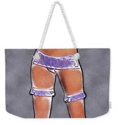 Sexy Stockings Pop Art Weekender Tote Bag