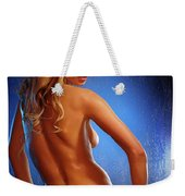 Sexy Young Woman Weekender Tote Bag