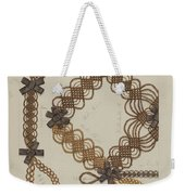 Shaker Hair Wreath Weekender Tote Bag