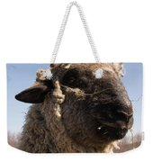 Sheep Face Weekender Tote Bag