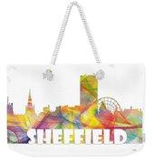 Sheffield England Skyline Weekender Tote Bag