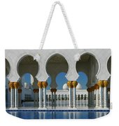Sheikh Zayed Grand Mosque Abu Dhabi United Arab Emirates Weekender Tote Bag