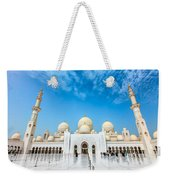 Sheikh Zayed Grand Mosque Weekender Tote Bag