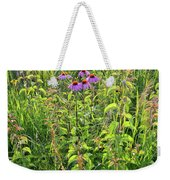 Shelley Kelly Prairie Wildflowers Weekender Tote Bag