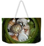 Shells Under Glass Weekender Tote Bag