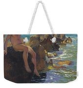 Ship Ahoy Weekender Tote Bag by Paul Von Spaun