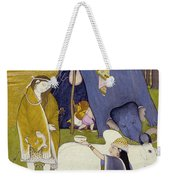 Shiva And His Family Weekender Tote Bag