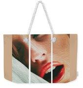 Side Kiss- Weekender Tote Bag by JD Mims