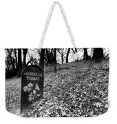 Sign In The Forest Weekender Tote Bag