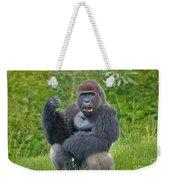 1- Silverback Western Lowland Gorilla  Weekender Tote Bag