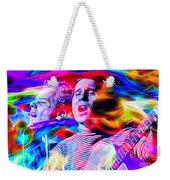 Simon And Garfunkel Weekender Tote Bag