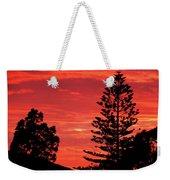 Simple Sunset Weekender Tote Bag