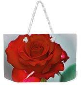 Simply Red Weekender Tote Bag