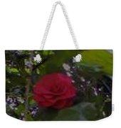 Single Rose Weekender Tote Bag