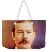 Sir Arthur Conan Doyle, Literary Legend Weekender Tote Bag