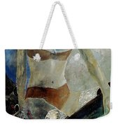 Sitting Girl  Weekender Tote Bag