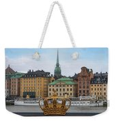 Skeppsholmsbron - Stockholm Weekender Tote Bag