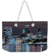 Skyline Of London Weekender Tote Bag