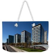 Skyscrapers In A City, Illa De La Llum Weekender Tote Bag
