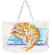 Sleeping Beauty Weekender Tote Bag