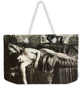 Sleeping Woman, C1900 Weekender Tote Bag