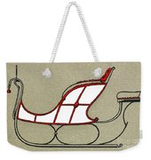 Sleigh, 19th Century Weekender Tote Bag