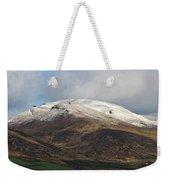 Slieve Mish Mountain In Snow Weekender Tote Bag